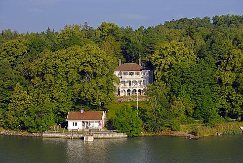 House on Baltic Sea, Southwestern Archipelago, Finland, Scandinavia, Europe