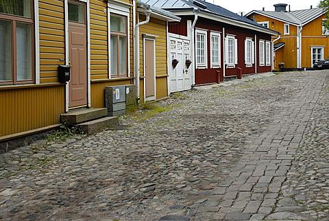 Foreshortening, Porvoo, southern coast, Finland, Scandinavia, Europe