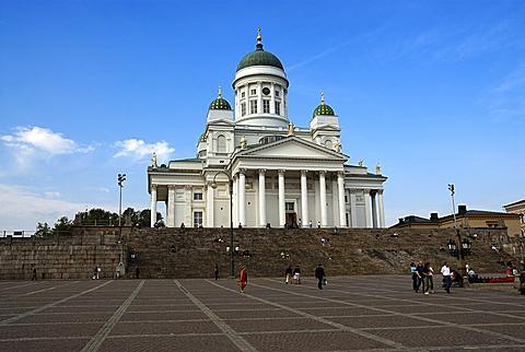 Helsinki Cathedral, Helsinki, Uusimaa, Finland, Scandinavia, Europe