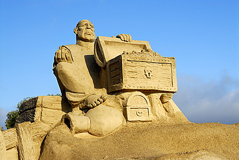 Annual festival of sand sculpture, Lappeenranta, South Karelia, Finland, Scandinavia, Europe