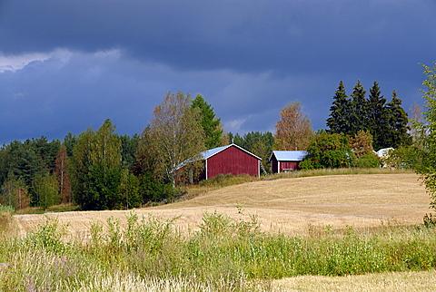 Storm sky, Finland, Scandinavia, Europe