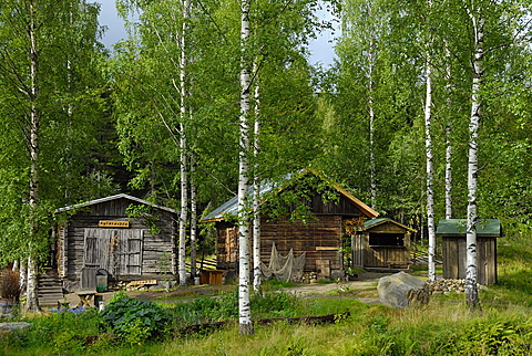 Traditional house, Linnansaari National Park, Southern Savonia and Northern Savonia, Finland, Scandinavia, Europe