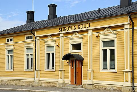 School, Uusikaupunki, Finland Proper, Finland, Scandinavia, Europe