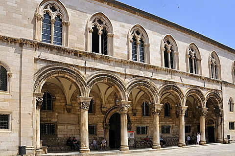 Rector's Palace, Grad old town, Dubrovnik, Dalmatia, Croatia, Europe