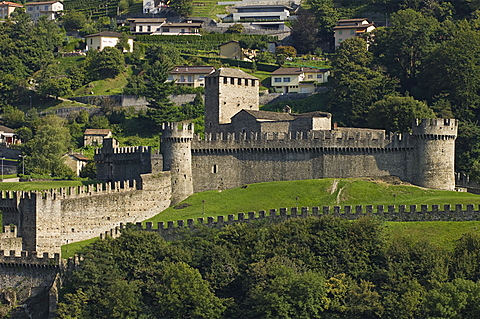 montebello castle, bellinzona, switzerland