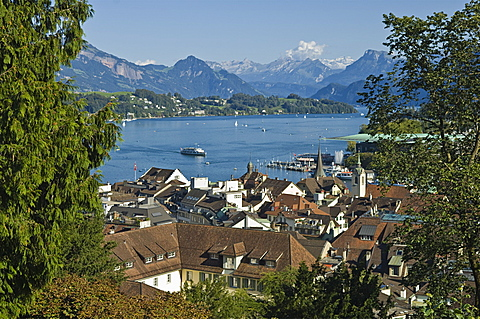 town view, lucerne, switzerland
