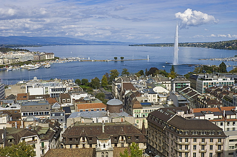 town view, geneva, switzerland