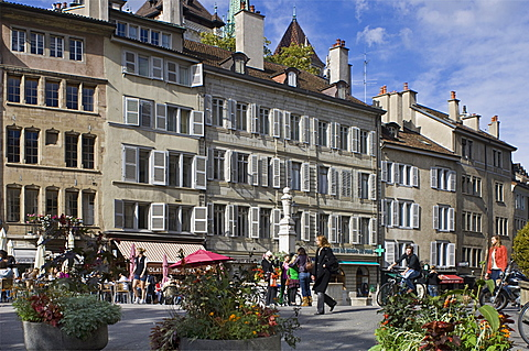 place du bourg de four, geneva, switzerland