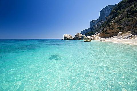 Spiaggia delle Sorgenti, Cala Goloritzè, Baunei, Provincia Ogliastra, Golfo di Orosei, Sardinia, Italy