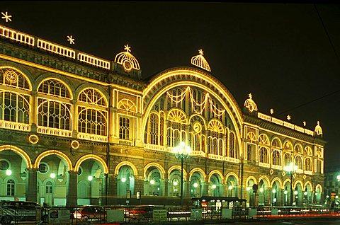 Porta Nuova station, Turin, Piedmont, Italy