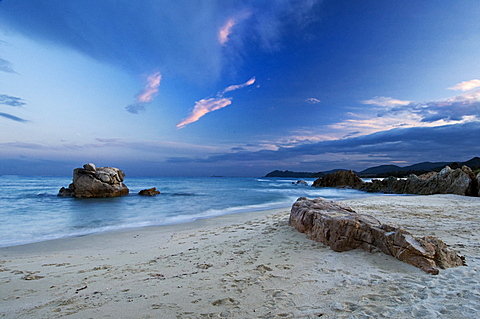 Santa Giusta beach, Costa Rei, Muravera, Castiadas, Cagliari district,  Sardinia, Italy, Europe