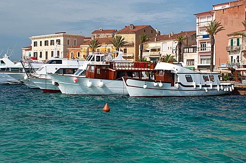 Harbour La Maddalena , Olbia - Tempio district, Sardinia, Italy, Europe