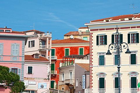 Historical centre, La Maddalena, Olbia - Tempio district, Sardinia, Italy, Europe