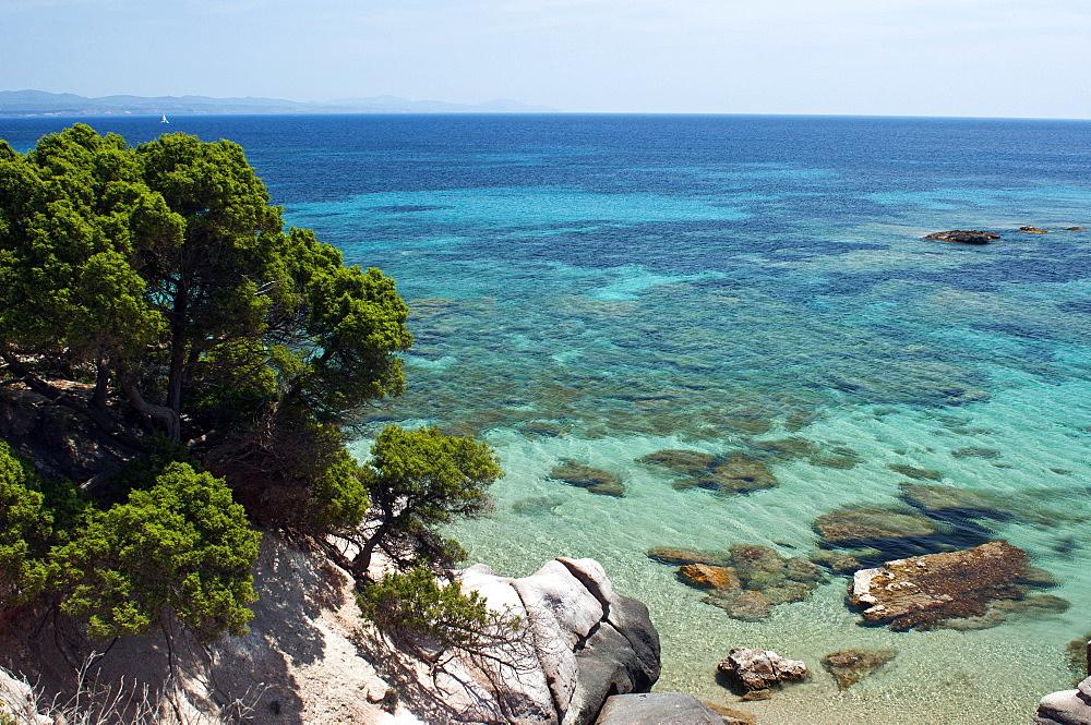 Geniò beach,Carloforte, St Pietro Island, Sulcis Iglesiente, Carbonia Iglesias, Sardinia, Italy, Europe