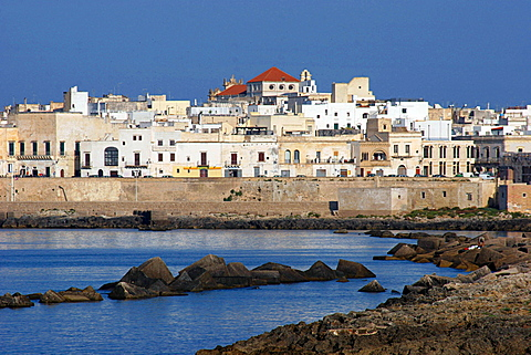 Old city, Gallipoli, Salentine Peninsula, Apulia, Italy