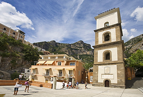 Santa Maria Assunta church, Positano,S alerno, Campania, Italy, Europe