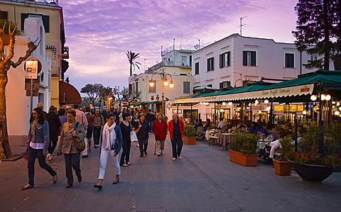 Via Roma, Ischia Island, Naples, Campania, Italy, Europe