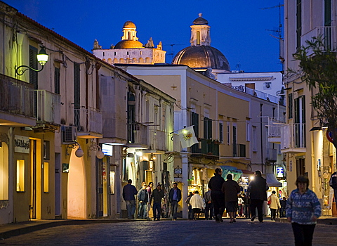 Ischia Ponte village,Ischia island,Naples,Campania,Italy,Europe.