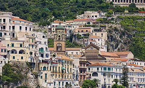 Amalfi Dome, Amalfi,S alerno, Campania, Italy, Europe