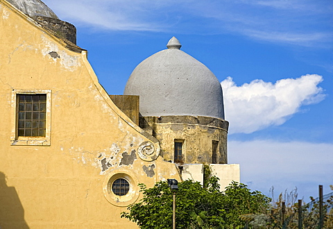 S.Michele church,Procida island,Naples,Campania,Italy,Europe.