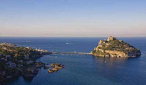 Ischia island,Campania,Naples,Italy,Europe.