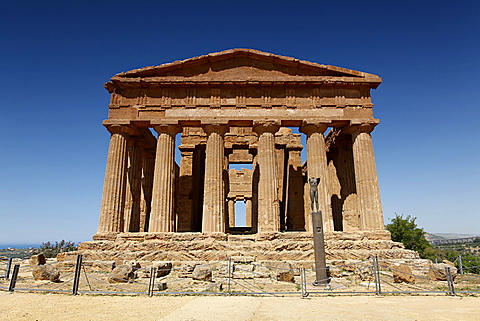 Concordia temple, Valle dei Templi, Argigento, Sicily, Italy, Europe