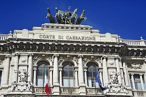 Rome. Italy. Europe. Palazzo di Giustizia.