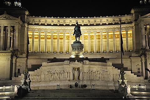 Rome. Italy. Europe. Vittoriano Palace.