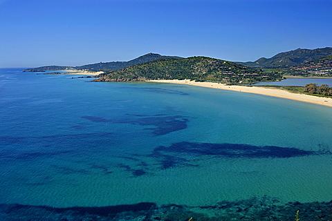 Chia coast, Domus de Maria, Sardinia, Italy