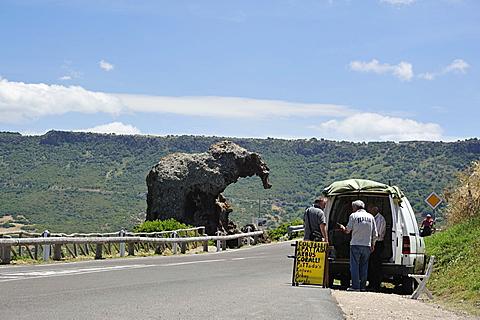 Roccia dell'Elefante, Castelsardo, Sardinia, Italy, Europe
