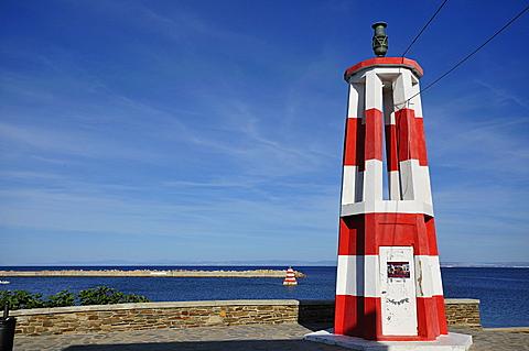 Touristic harbour, Stintino village, Sardinia, Italy, Europe