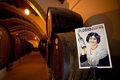 Florio Cellar, Marsala, Sicily, Italy, Europe
