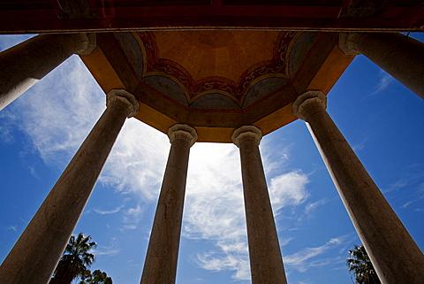 Palazzina Cinese favßade, Palermo, Sicily, Italy, Europe