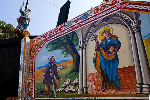 santa rosalia feast, Palermo, Sicily, Italy, europe