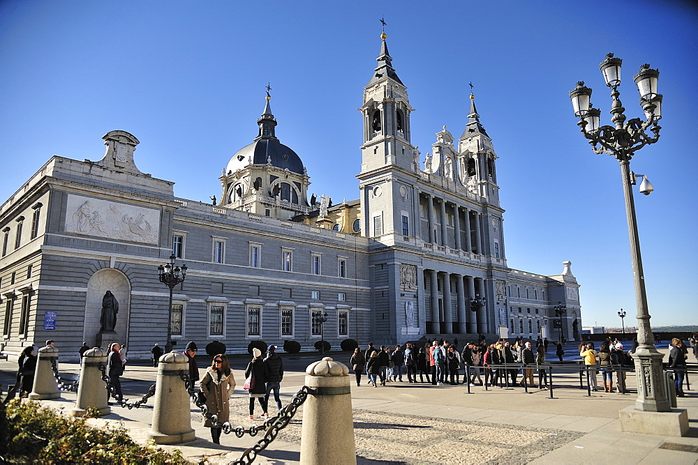 Cathedral Santa Maria de la Almudena, Madrid, Spain, Europe