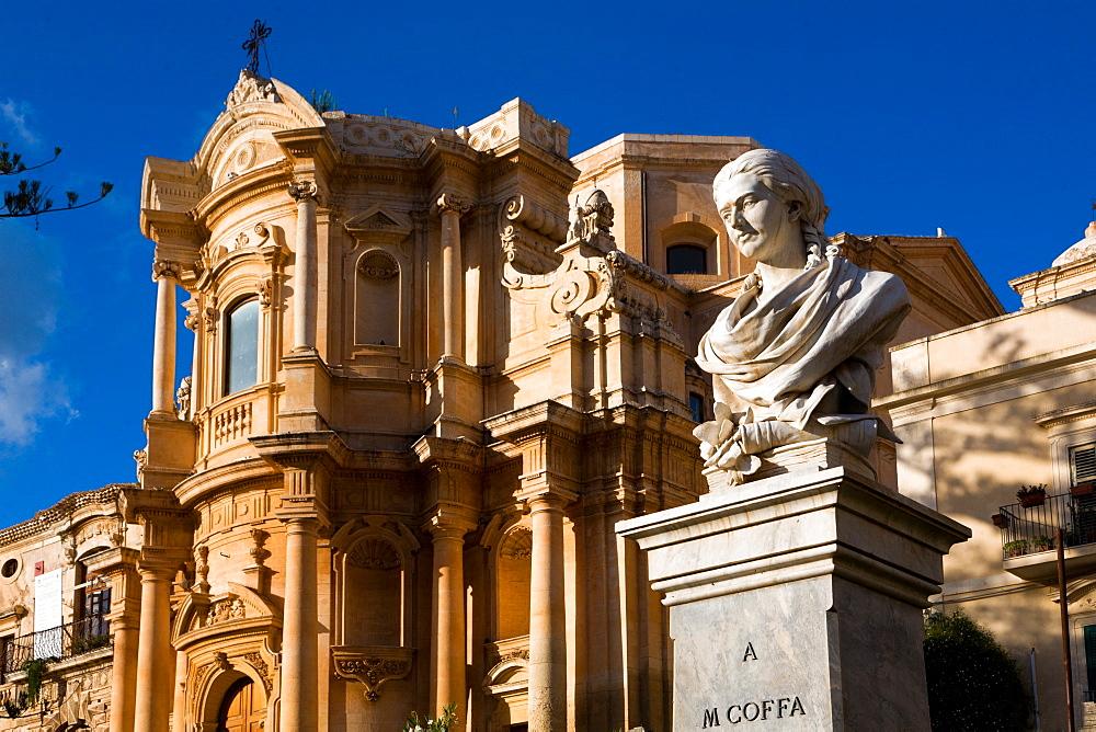Foreshortening, Noto, Sicily, Italy, Europe