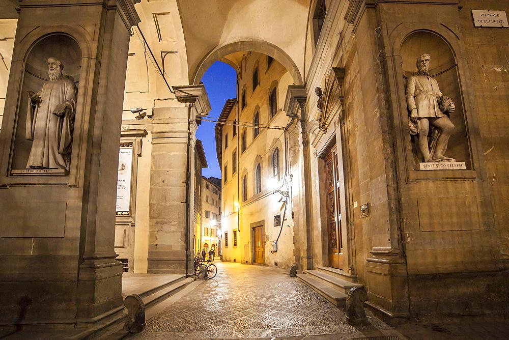 Uffizi square, Florence,Tuscany, Italy, Europe