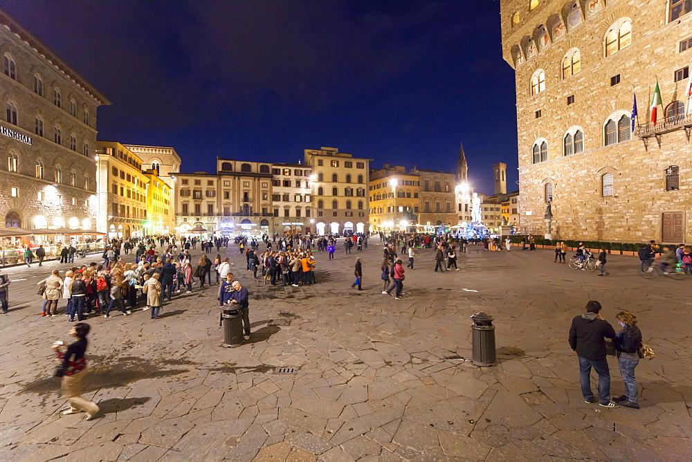 Piazza della Signoria square, Florence,Tuscany, Italy, Europe