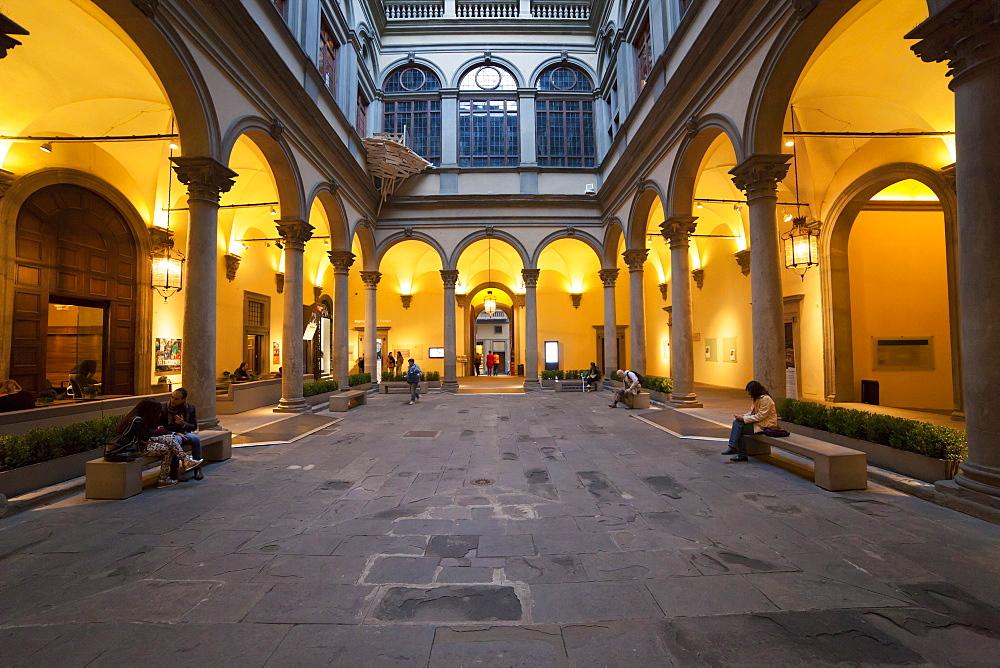 Palazzo Strozzi palace,Florence,Tuscany, Italy, Europe