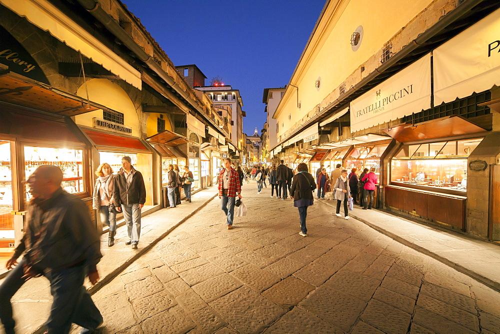 Ponte Vecchio,Florence,Tuscany, Italy, Europe