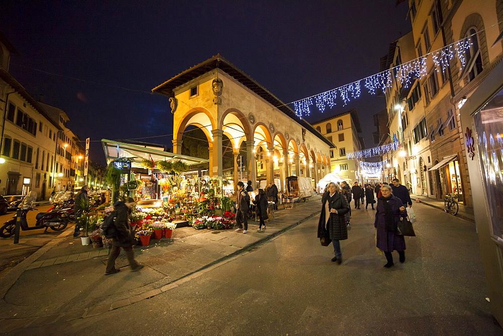 Ciompi square, Florence, Tuscany, Italy, Europe