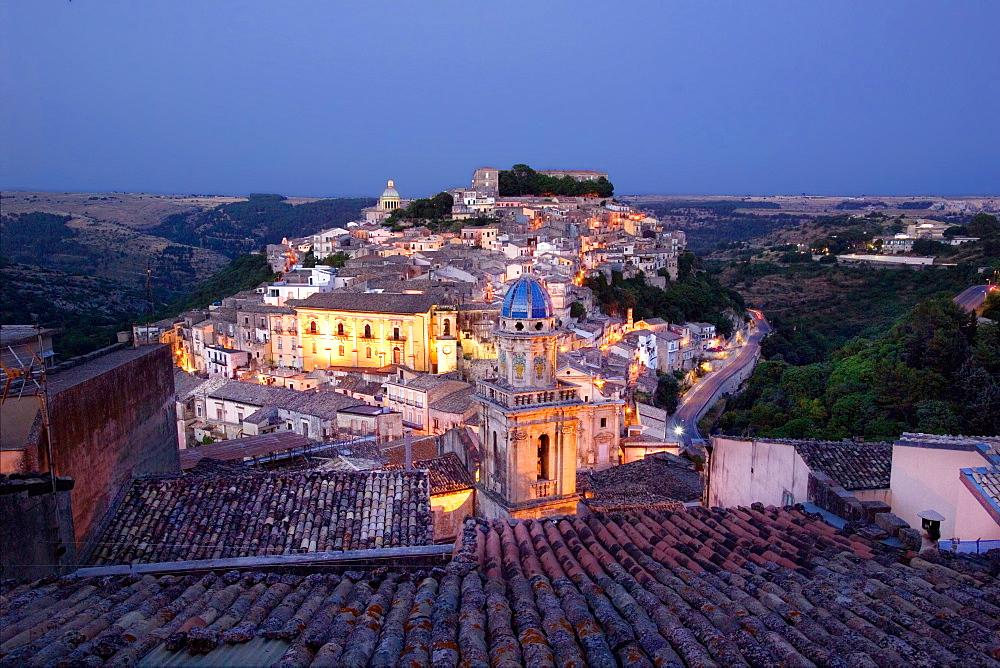 Ragusa Ibla, Ragusa Superiore, province of Ragusa, Sicily, Italy, Europe - 746-87593