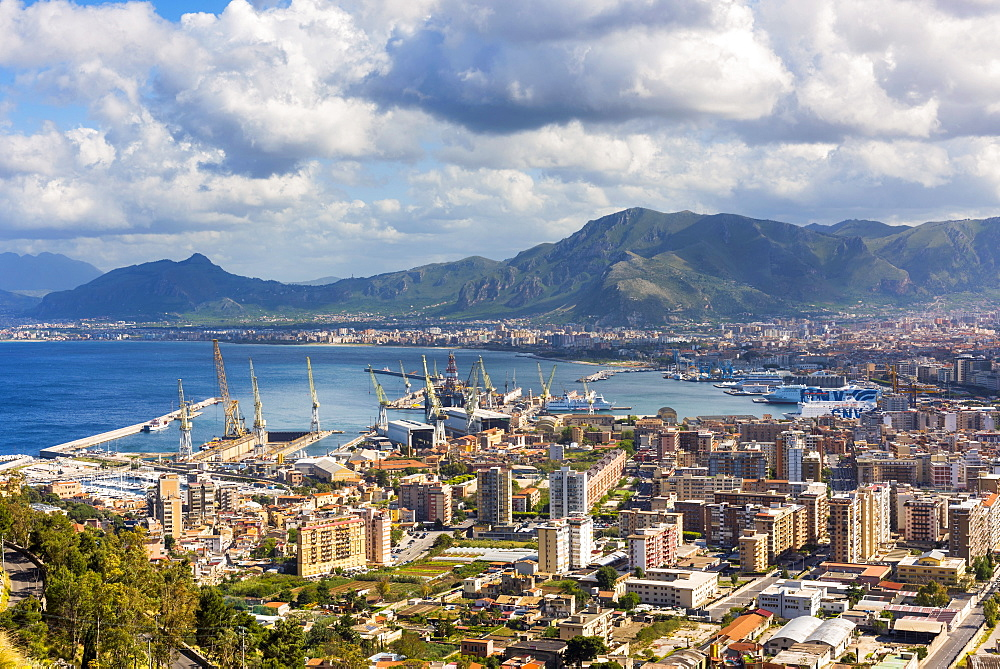 Port, Palermo, Sicily, Italy, Europe