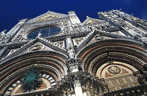 The Cathedral, Siena, Tuscany, Italy.