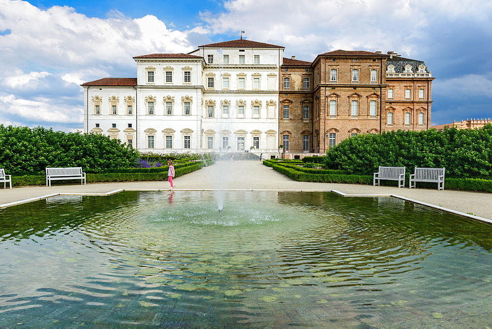 Palace of Venaria, Residences of the Royal House of Savoy, Turin, Piedmont, Italy, Europe