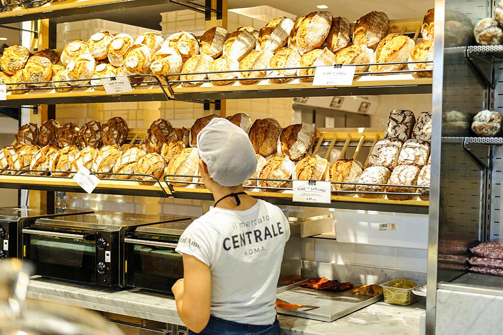 Mercato Centrale Roma, Rome Central Market, Via Giolitti 36 street, Rome, Lazio, Italy, Europe