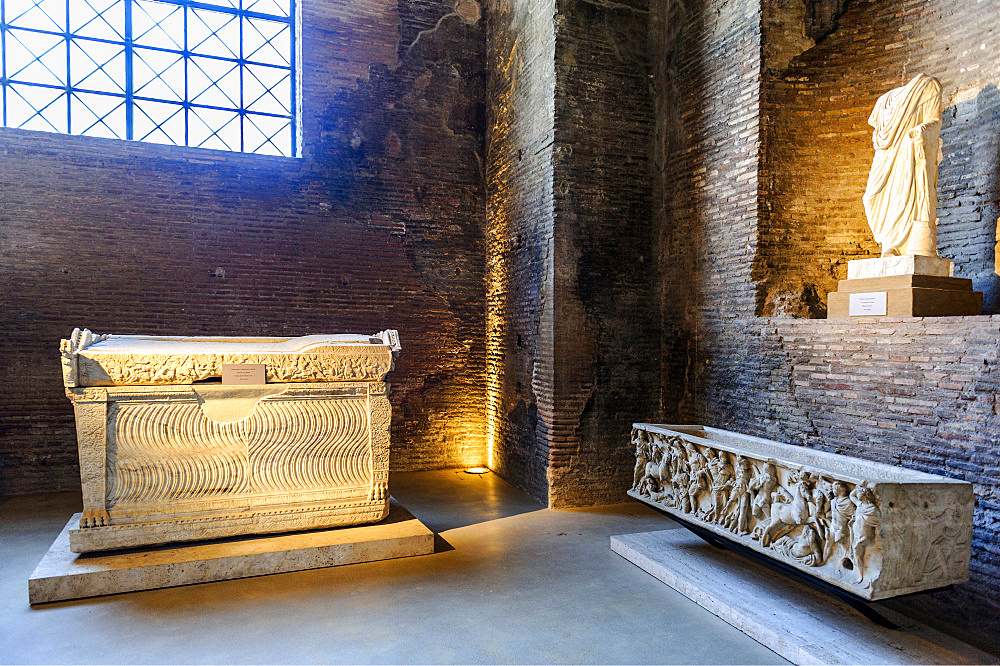 Thermae of Diocleziano, Rome, Lazio, Italy, Europe