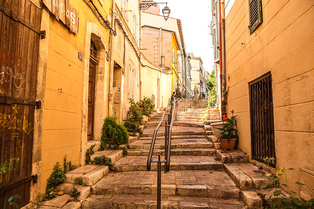 Le Panier quarter, Marseille, France, Europe, Bouches du Rhone, Provence-Alpes-Cote-d'Azur - 746-88461