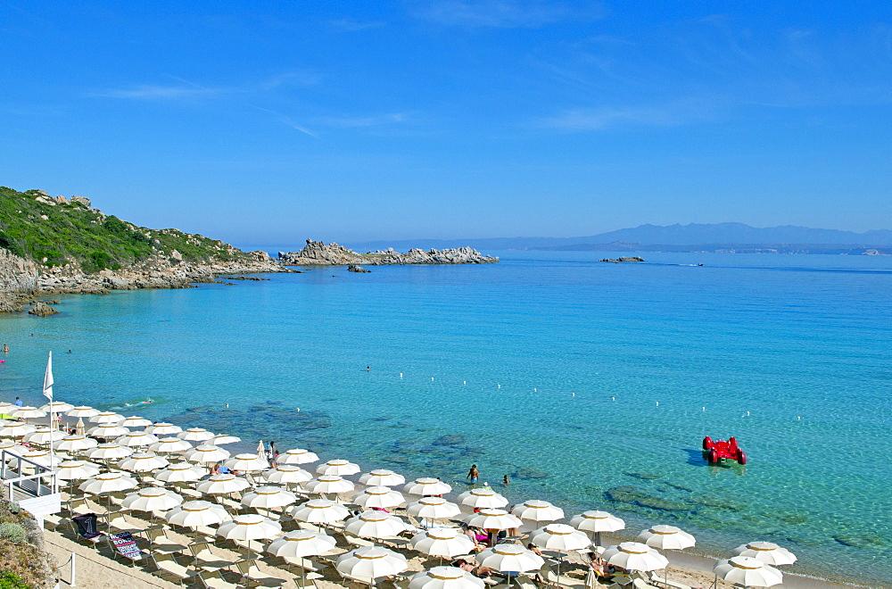 Rena Bianca beach, Santa Teresa di Gallura, Olbia Tempio, Gallura, Sardinia, Italy, Europe