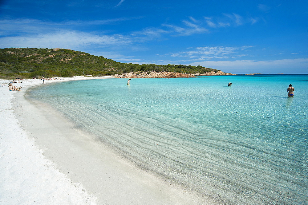Spiaggia del Principe beach, Costa Smeralda, Arzachena, Sardinia, Italy, Europe